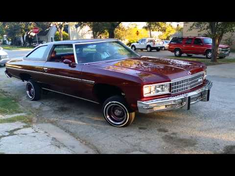 Repeat 1976 Chevy Caprice Classic on 26's 2 Door Coupe (For Sale) by