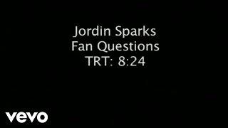 Jordin Sparks - Fan Q&A