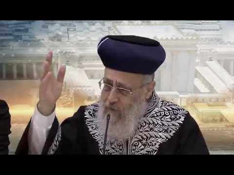 הרב יצחק יוסף: אפילו נשיא רוסיה פוטין מבין שכוחו של העם היהודי הוא בזכות התורה