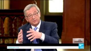 Débat Jean-Claude Juncker - Martin Schulz sur France 24