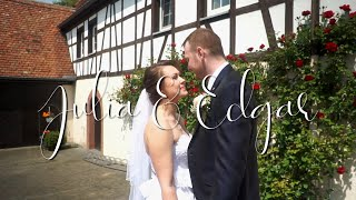 Hochzeitsvideo Julia & Edga /Wertheim Russische Hochzeit