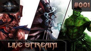 Diablo 3 Reaper of Souls Season 12 - Hardcore Barbarian/Crusader Gameplay - E01
