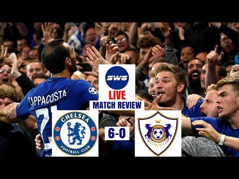 CHELSEA 6-0 QARABAG FK | ZAPPACOSTA MAKING HIS CLAIM | MATCH REVIEW | SW6 LIVE
