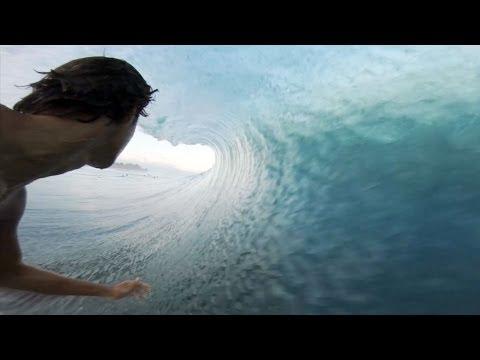 Seth Moniz GoPro Angle at Backdoor