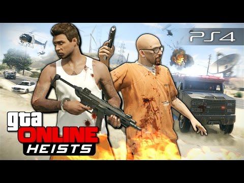 GTA 5 Online Heists - Побег из тюрьмы! #111