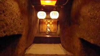 ろうそく 初不動祭り 宮地嶽神社奥の宮2010.1.28福津市
