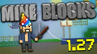 Mine Blocks 1.27 Update - 2D Minecraft