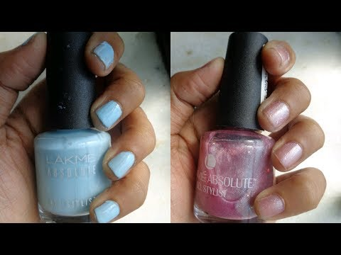 Lakme Absolute Gel Stylist Nail Polish Review Shades And Swatches