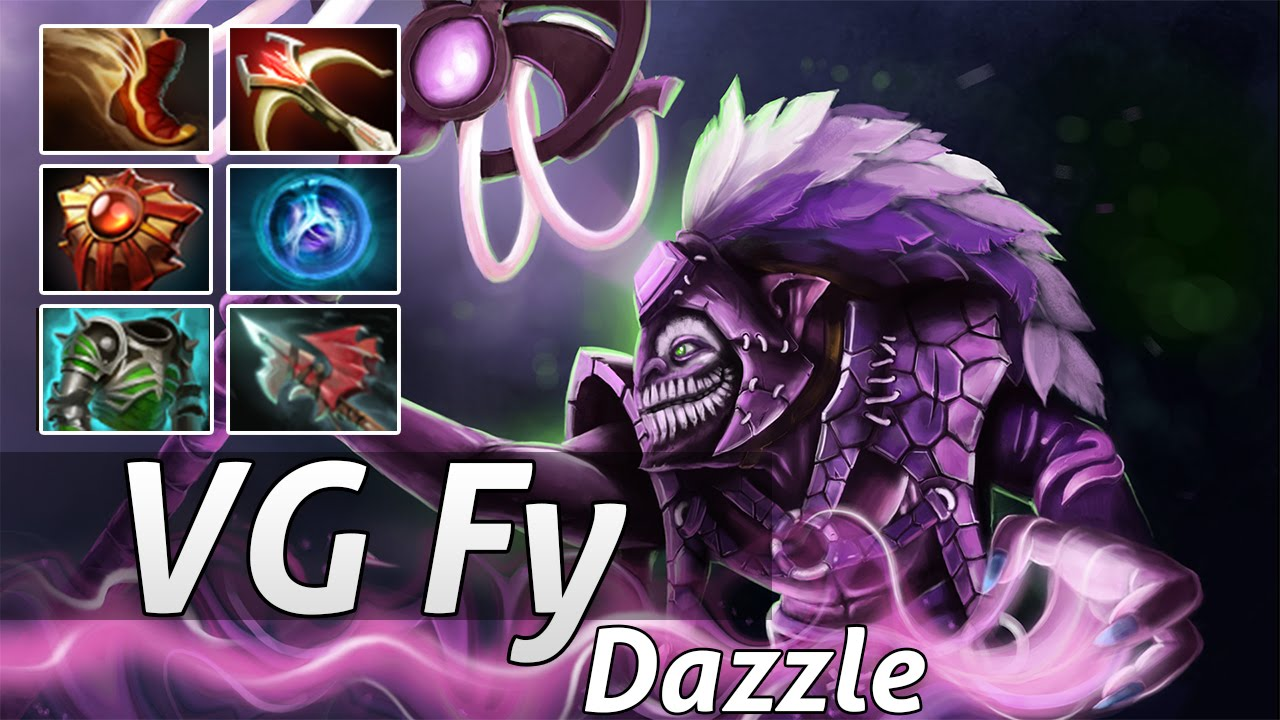 dazzle build carry by vg fy dota 2 epic moments youtube