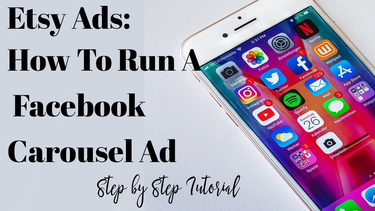Etsy Ads: How Run A Facebook Carousel Ads - Step by Step Tutorial
