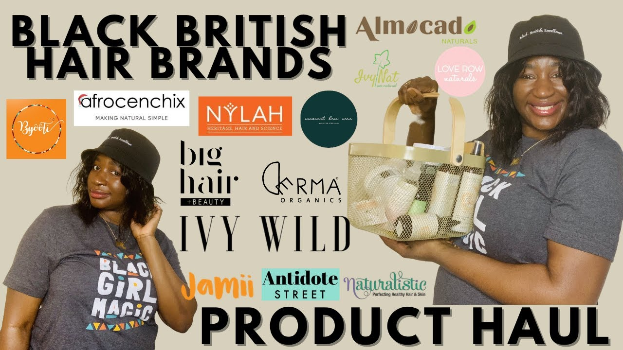 Black British Hair Brands You Need To Know | Issa Product Haul