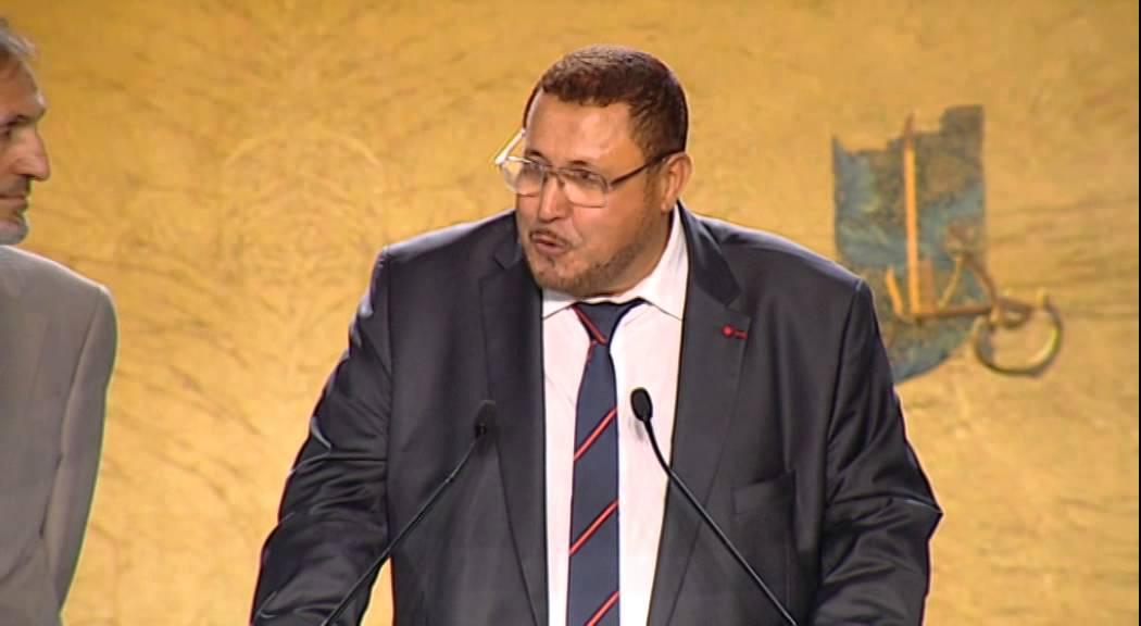 Khalil Merroun, recteur de la mosquée d'Évry