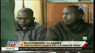 9 suspects arrested in Kuresoi South over Olpusimoru clashes