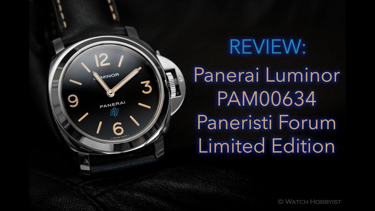 Panerai Luminor Limited Edition