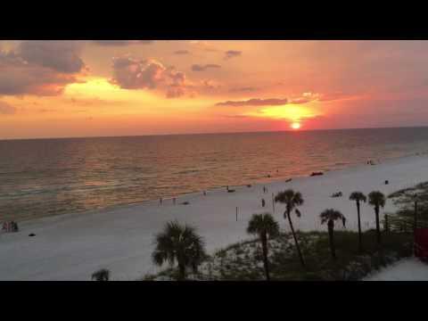 Sunset on Panama City Beach 9/24/16