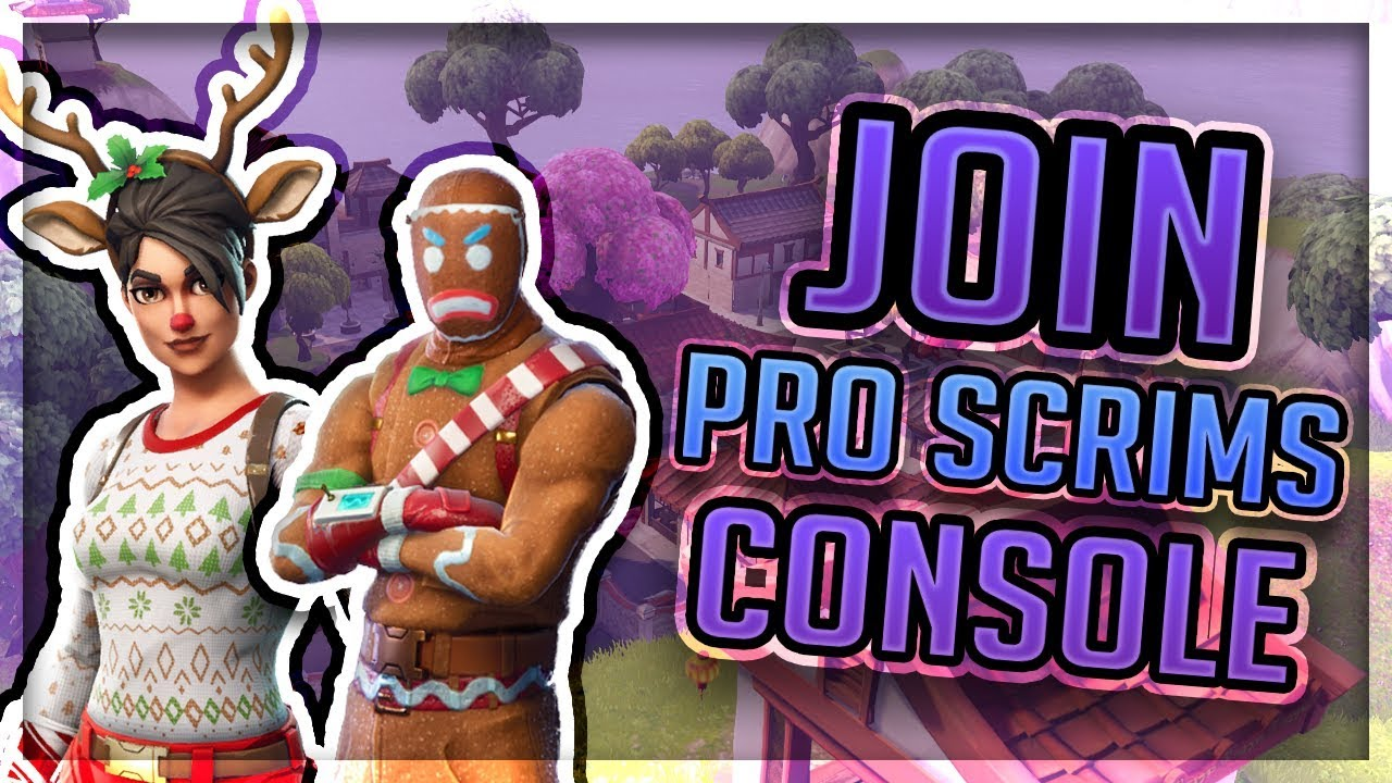 how to join pro scrims on console fortnite xbox and ps4 - how to play scrims in fortnite ps4