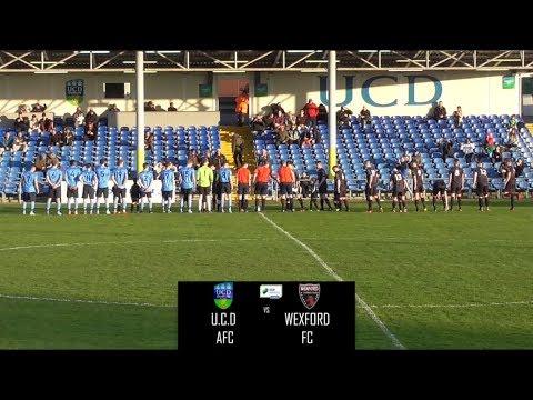 U.C.D 3-2 Wexford FC