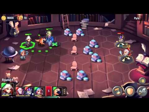 Heroes Tactics: Magic Library Lvl 4