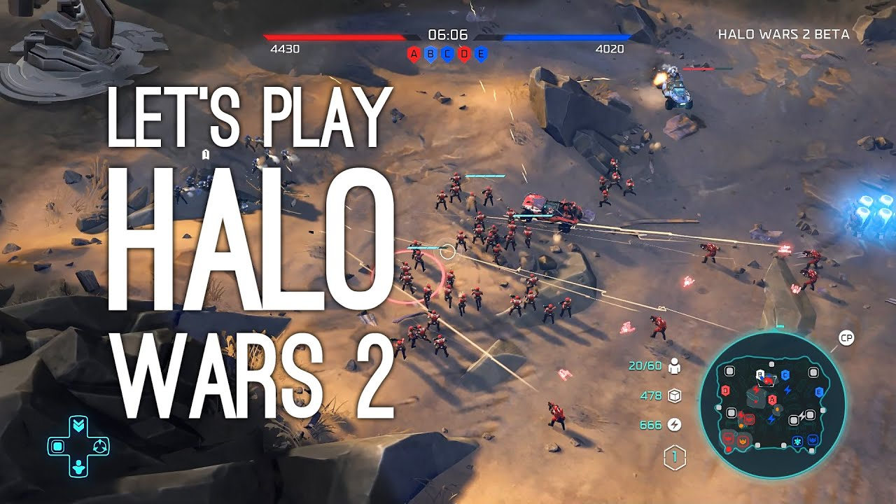Let U0026 39 S Play Halo Wars 2  Halo Wars 2 Gameplay From E3 2016