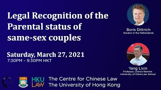 Legal Recognition of Same Sex Couples