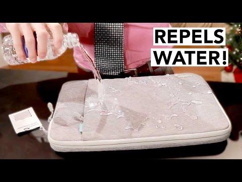 Spill-Proof iPad/Laptop Case UNDER $20 - Repels ANY Liquid!