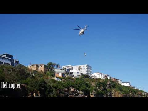 Gordons Bay Sydney Cliff Rescue 23 October 2017
