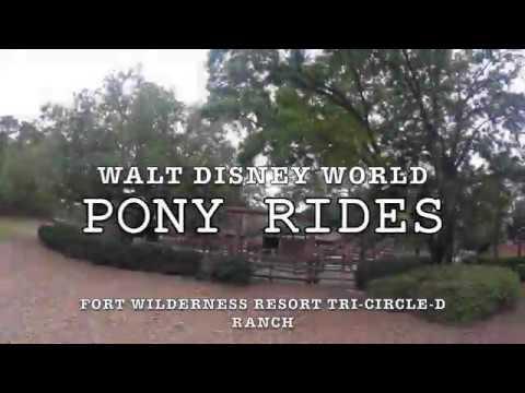 Pony Ride at the Walt Disney World's Tri-Circle-D Ranch
