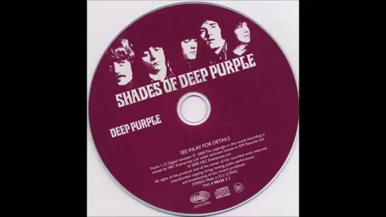 Purple Shades Deep Purple  Shades Of Deep Purple Full Album  Youtube