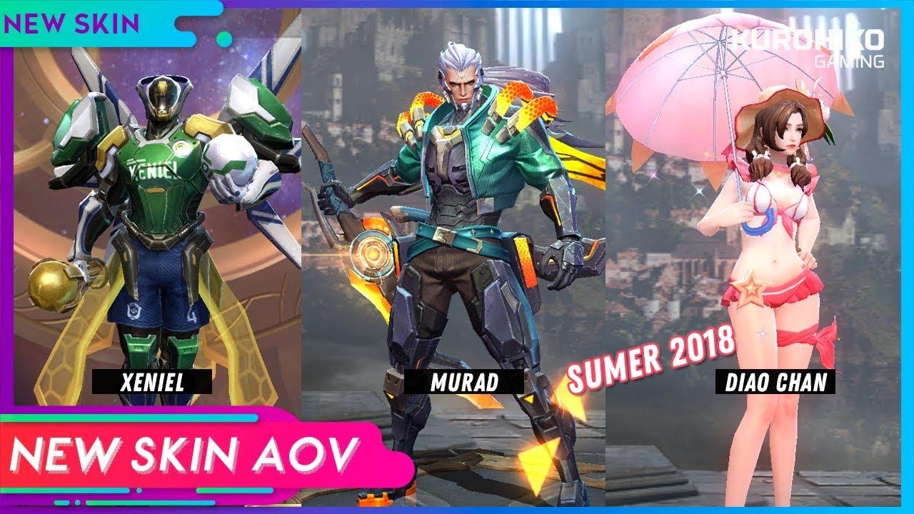 New Skins Summer Aov
