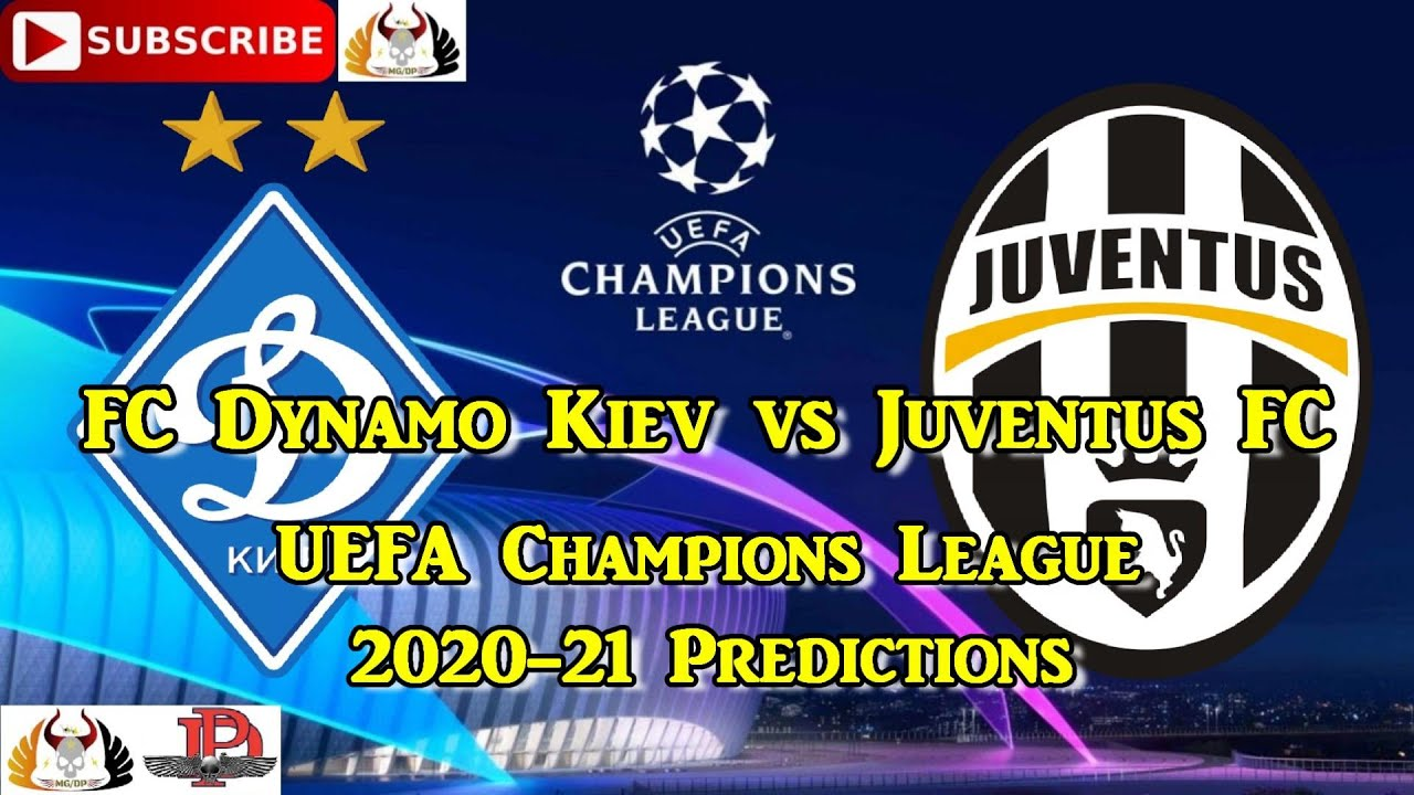 Fc Dynamo Kiev Vs Juventus Fc 2020 21 Uefa Champions League Group G Predictions Efootball Pes 2021 Youtube