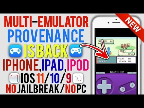Multi Emulator App Provenance Is BACK On iOS 11 / 10 / 9! [N64,GBA,SNES] (iPhone , iPad , iPod)