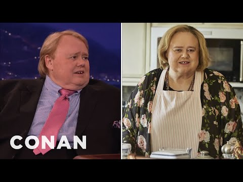 "Louie Anderson On Playing Zach Galifianakis' Mom On ""Baskets""  - CONAN on TBS"