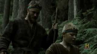 Vikings (2013) History Channel Series - First meeting with Floki