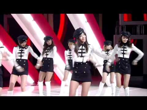 SNSD - MR. TAXI @ SBS INKIGAYO