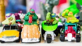 Teenage Mutant Ninja Turtles T-Machines Toy Cars Playset