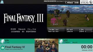 Final Fantasy VI (No Sketch Race) by Liin and LCC (RPG Limit Break 2018 Part 40)