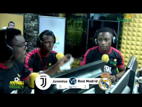 Juventus v Real Madrid Live Commentary