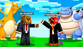 WINNING In Minecraft Pixelmon Island UHC #4 | JeromeASF