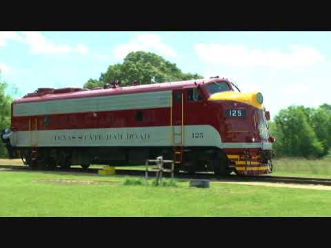 Texas State RR.Restored F Unit Debut