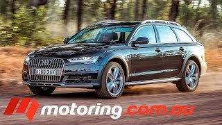 Audi A6 allroad 2015: Video Review(The new Audi A6 allroad quattro is a very competent car FULL REVIEW: http://bit.ly/1IdIWNi., 2015-05-05T01:02:36.000Z)