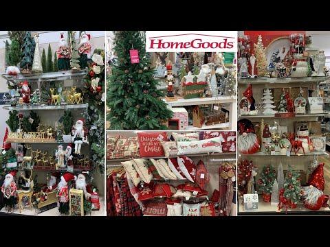 HomeGoods Christmas Home Decor Shop With Me 2019