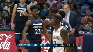 Andrew Wiggins Put Anthony Davis In The Spin Cycle