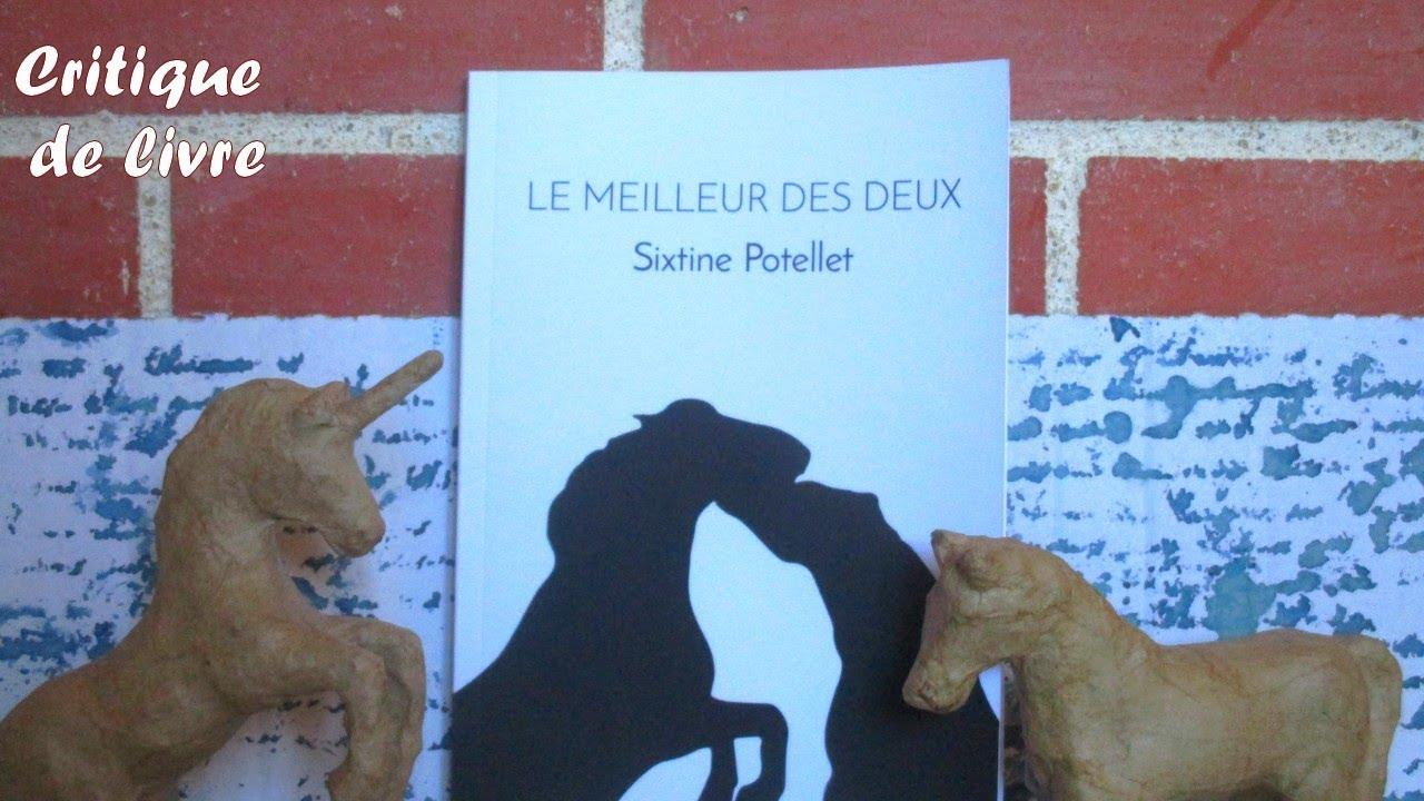 Booktube Le Meilleur Des Deux Sixtine Potellet Cavalgrena