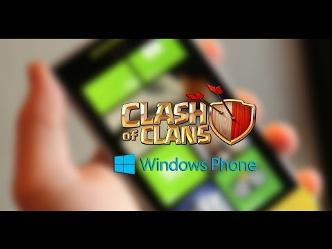 Clash Of Clans on Windows phone