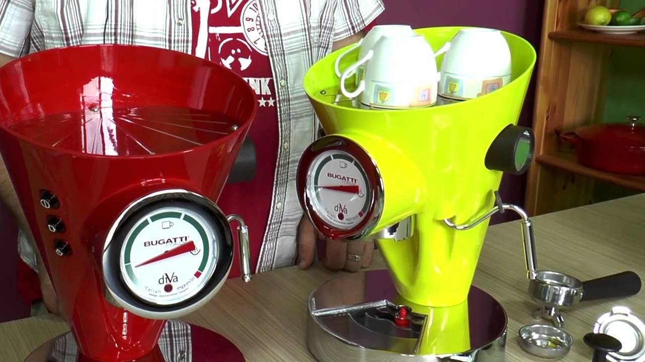 ekspres do kawy diva bugatti prezentacja coffee machine