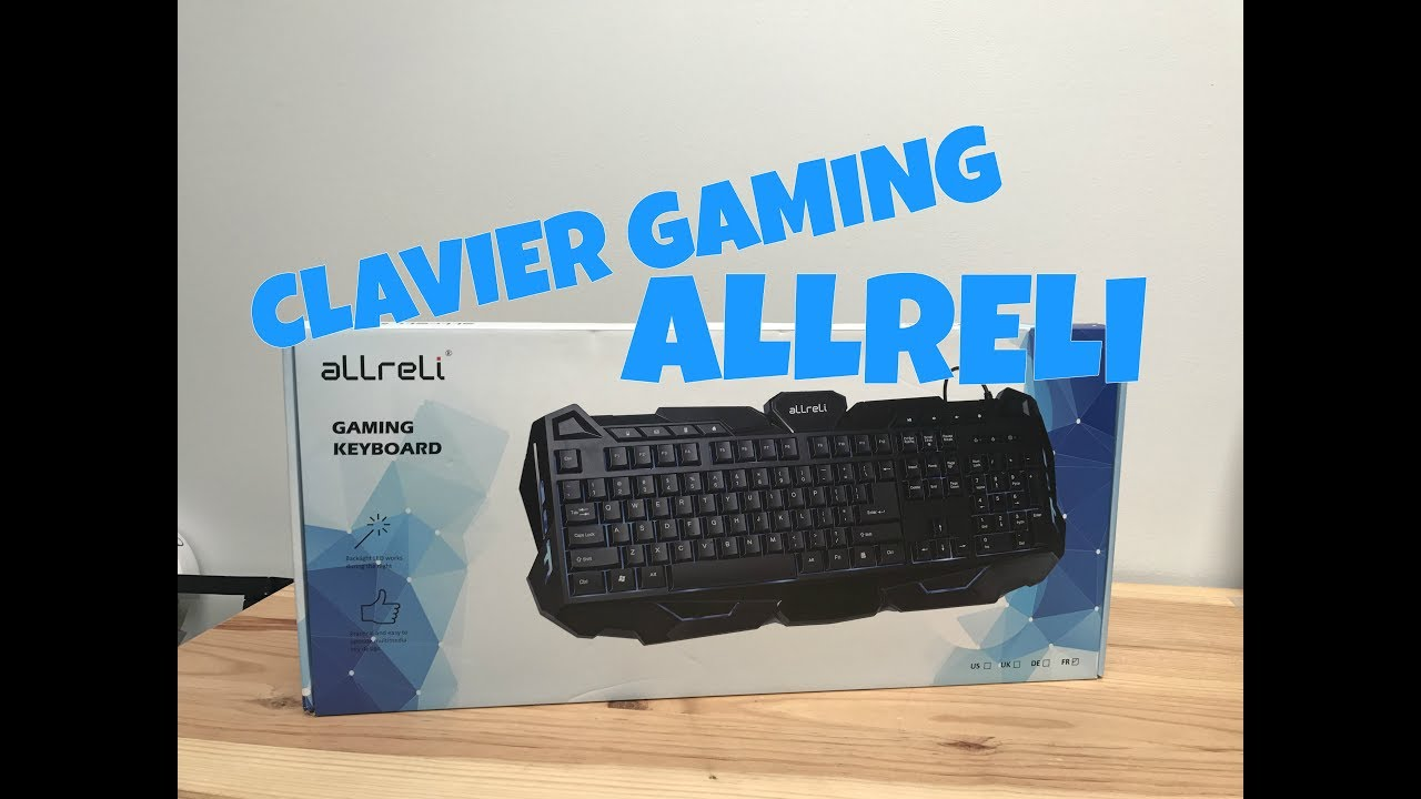 excellent clavier gamer pas cher youtube. Black Bedroom Furniture Sets. Home Design Ideas