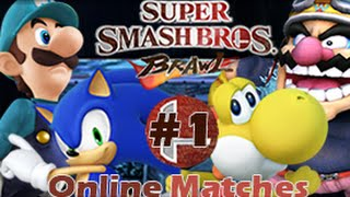 Super Smash Bros. Brawl Free for all Online Matches (4-Players)