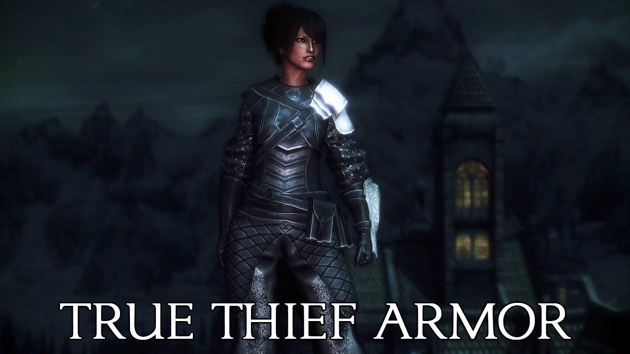 skyrim blackguard armor mod