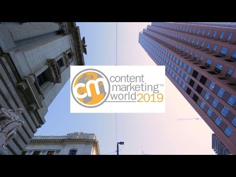 #CMWorld 2019 - Content Marketing World Conference & Expo