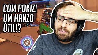 OVERWATCH com POKIZ - ROAD TO ALGUMA COISA #22 - Ele Me Afundou!? (PC Gameplay Ranked)